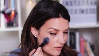 PowderBleu - Soft Finishing Brush Makeup Tutorial