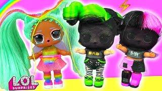 Витчи В ШОКЕ! Плохие девочки напали на его подружку! Мультик куклы лол сюрприз LOL dolls