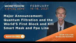 MAJOR ANNOUNCEMENT: Quantum Filtration and the World's First Block and Kill Smart Mask and PPE Line