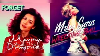 Forget x Wrecking Ball - Marina and The Diamonds & Miley Cyrus Mashup