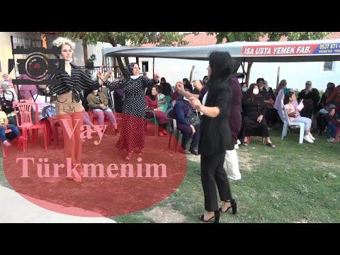 Çeltik düğünlerinde Vay Türkmenim.