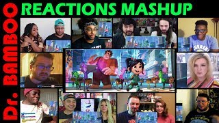 Ralph Breaks the Internet: Wreck It Ralph 2 Trailer REACTIONS MASHUP