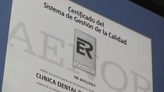 ISO 9001 Clínica Pardiñas - Dentista en A Coruña