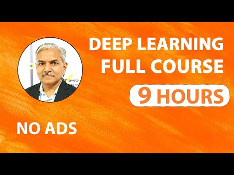 Deep learning Tutorial | Deep learning Full Course 2020 | Complete ...