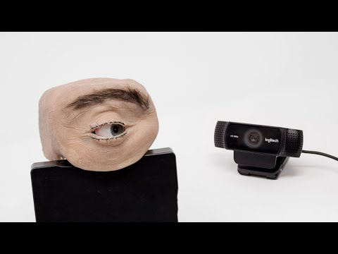 "Realistic ""Eyecam"" Watches You from Your Computer"