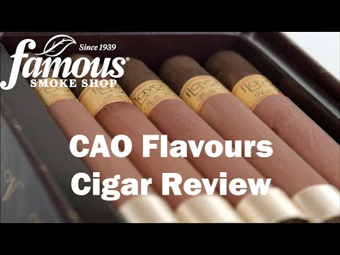 CAO Flavours video
