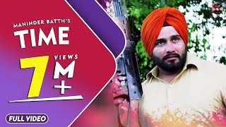 Time  Maninder Batth