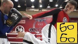 Уширо-гери или Удар ногой с разворота — урок Руслана Акумова по уширо-гери для спорта и улицы