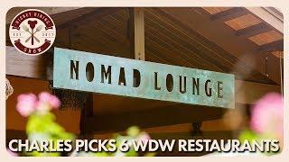 Charles Picks Six Walt Disney World Restaurants | Disney Dining Show | 05/1818 - Video Youtube