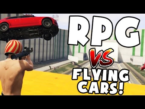 RPG VS FLYING CARS VS ROCKY