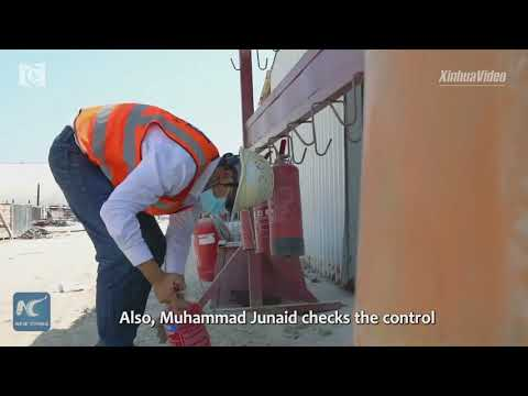 A UAE safety officer's life and work at Chinese-built project
