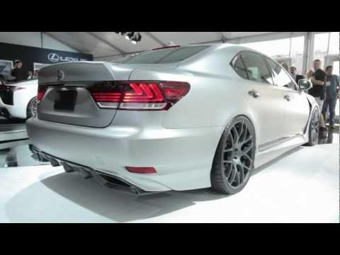 Lexus LS F-Sport Concept - 2012 Sema Show