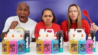 SLIME CHALLENGE!! Who's The Best You Decide?