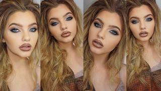 90's Supermodel Glam Inspired Makeup Tutorial | Sophia & Shannon Mitchell