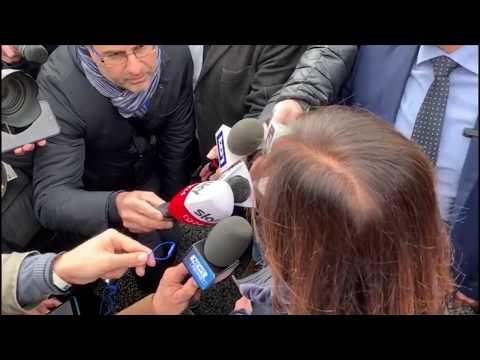 IL MINISTRO PAOLA DE MICHELI INAUGURA IL NUOVO VIADOTTO DELL' A 6 SAVONA TORINO