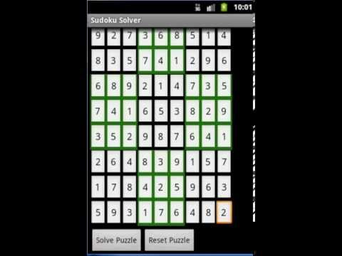 Sudoku Solver Android App