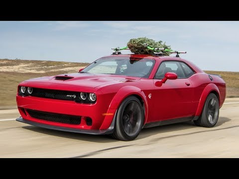 Dodge Challenger Hellcat Hits 174 Mph With A Christmas