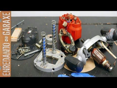 Desmontando la fresadora | Cambiar escobillas