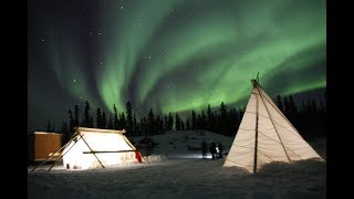 Yellowknife and the Northern Lights