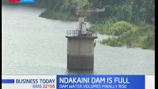 Finally, Ndakaini dam is slowly getting full