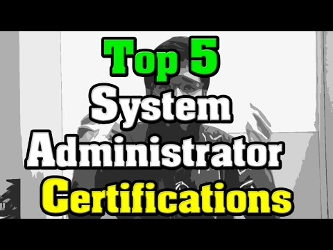 Top 5 System Administrator Certifications   - YouTube