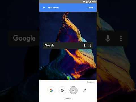 Así es la nueva barra de búsqueda personalizable de Android