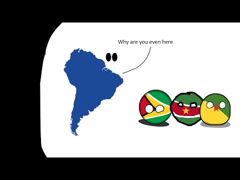 What are the Guiana countries?
