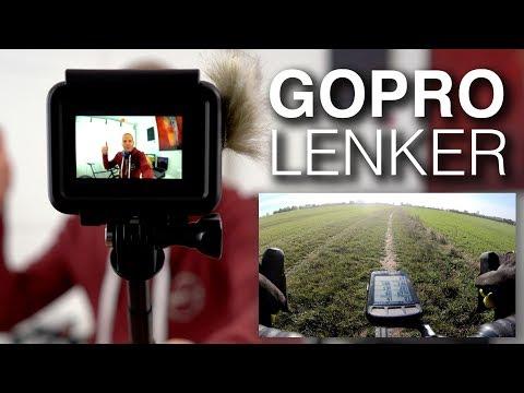 GoPro Hero 7 Black am Fahrradlenker: Hypersmooth, Hyperlapse-Aufnahmen mit K-Edge GoPro-Halterung 4K