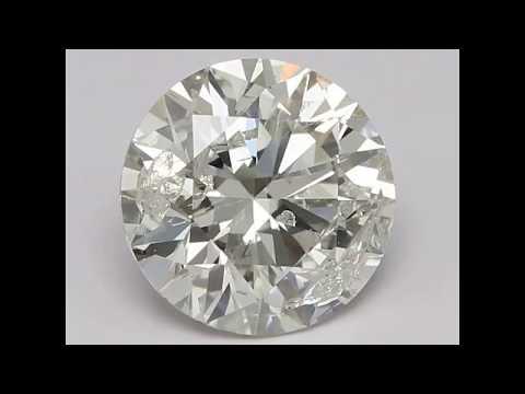 Solitaire 1.00ct I1/I Round Brilliant Diamond