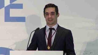 GOLD - USD - El patinador Javier Fernández, Medalla de Oro de Madrid