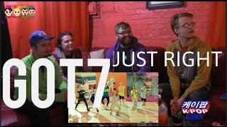 "GOT7 ""Just Right(딱 좋아)"" MV (NONKPOP Fan) REACTION"