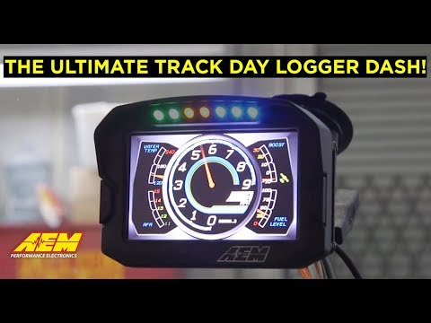The Ultimate Track Day Dash/Logger!