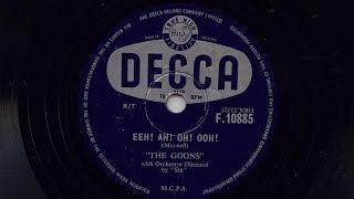 The Goons 'Eeh! Ah! Oh! Ooh!' 78 rpm