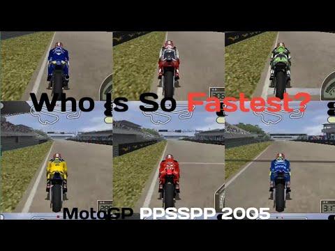 Kecepatan Motor MotoGP ERA 4-Tak Awal - MotoGP Ppsspp 2005 - #2