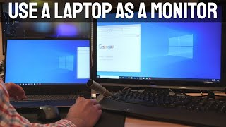 Use a Laptop as a Monitor - How to Use Your Laptop as a Second Monitor
