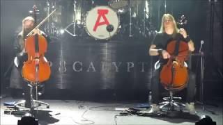 Apocalyptica - Sad but True (Metallica cover) - Bogotá 19 de Noviembre 2017