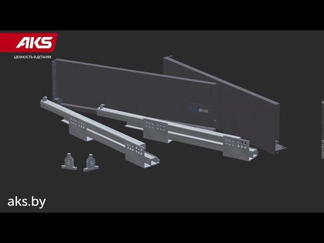 Система выдвижных ящиков SLIMBOX: монтаж и установка