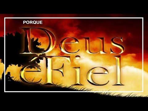 """DEUS É FIEL.""""GOD IS FAITHFUL."""""""