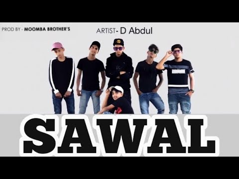 SAWAL | ABDUL | United Demons 22 | Official Music Video | Music By- Moomba Brothers