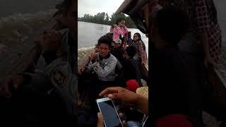 preview picture of video 'pulang dari pantai gabang di desa batanjung kalteng'