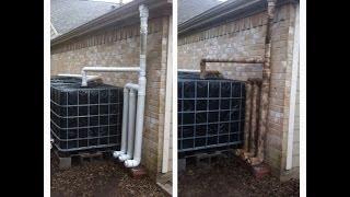 IBC Rainwater Harvesting System Update #2
