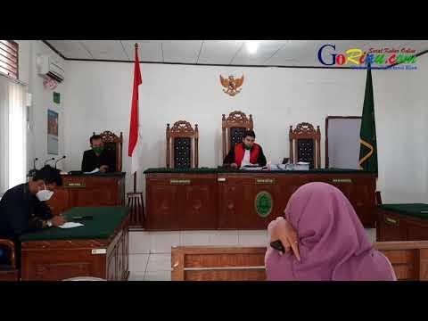 VIDEO: Putusan Praperadilan Kepala BPKAD Kuansing Menggugat Kajari Kuansing