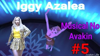 Musical No Avakin #5 - Iggy Azalea-(Kream)