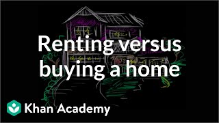 Renting versus buying a home