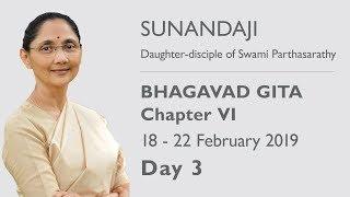 Bhagavad Gita Chapter - VI Chennai 2019, Day 3