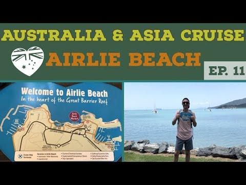 Exploring AIRLIE BEACH l Cruise to Australia l Cruise Vlog l Ep. 11