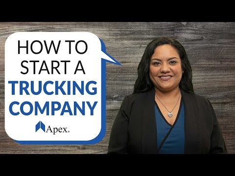 , title : 'How to Start a Trucking Company