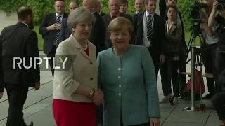 LIVE: Merkel hosts European leaders meeting ahead of G20 - Arrivals