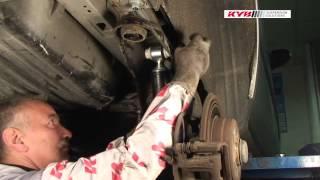 Montážní návod KYB - zadní Mercedes A Class