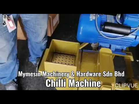 Chilli & Soybean Grinding Machine